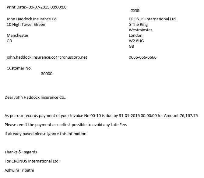 Word Mail Merge -8