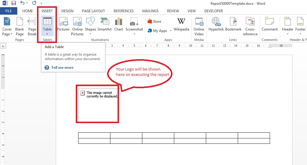 Word Report Design 11