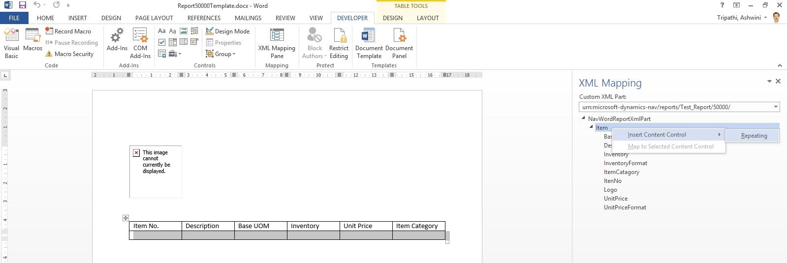 Word Report Design 13
