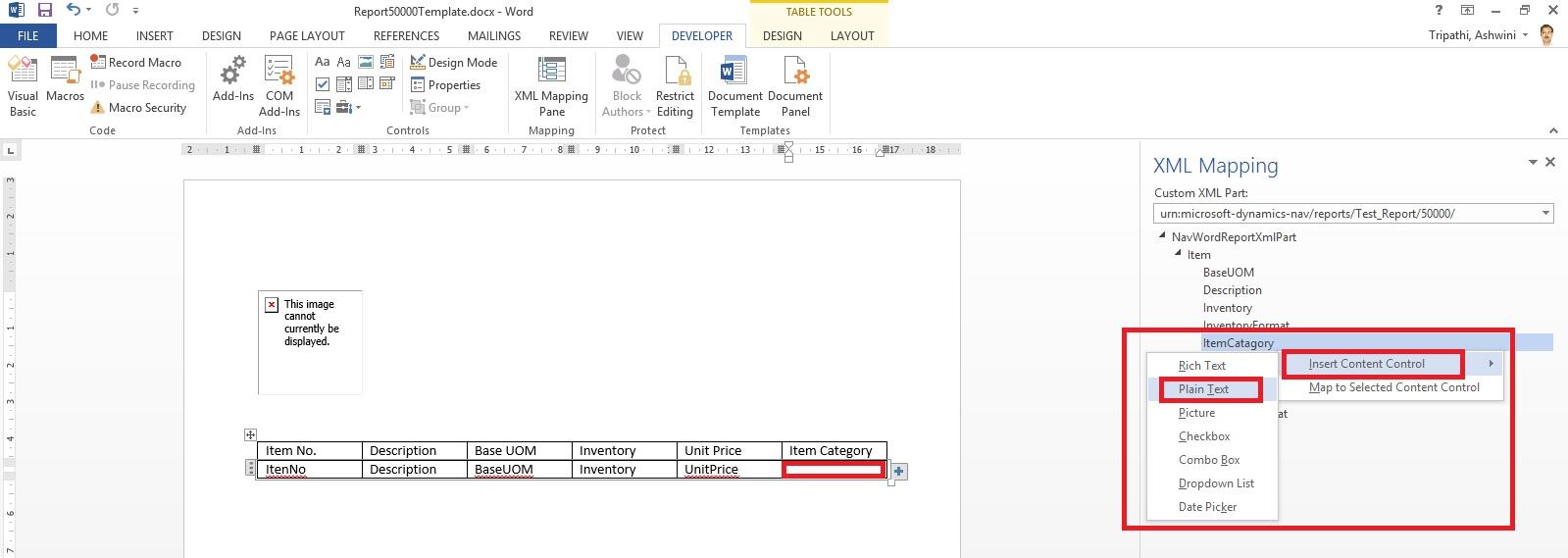 Word Report Design 14