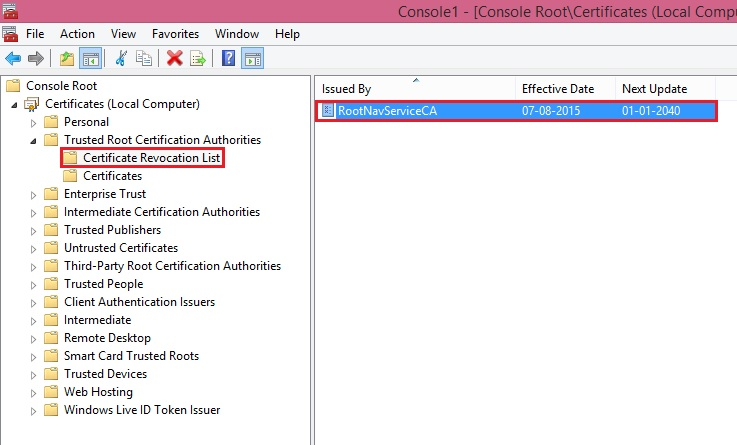 How to create a certificate revocation list for the root ...