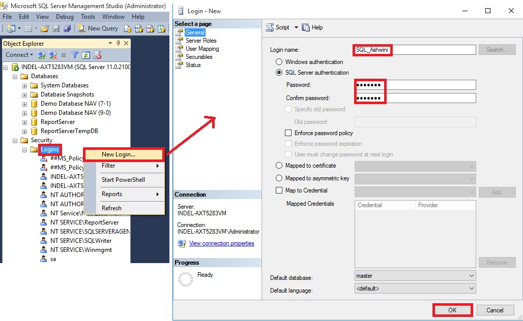 Configuring Sql Server Authentication In Microsoft Dynamics Nav 2016