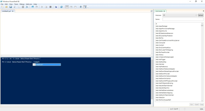 An Introduction to PowerShell – basics and how to define Variables