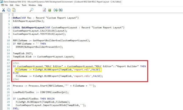 Open Report Design in Visual Studio from Custom Report Layouts | KSD